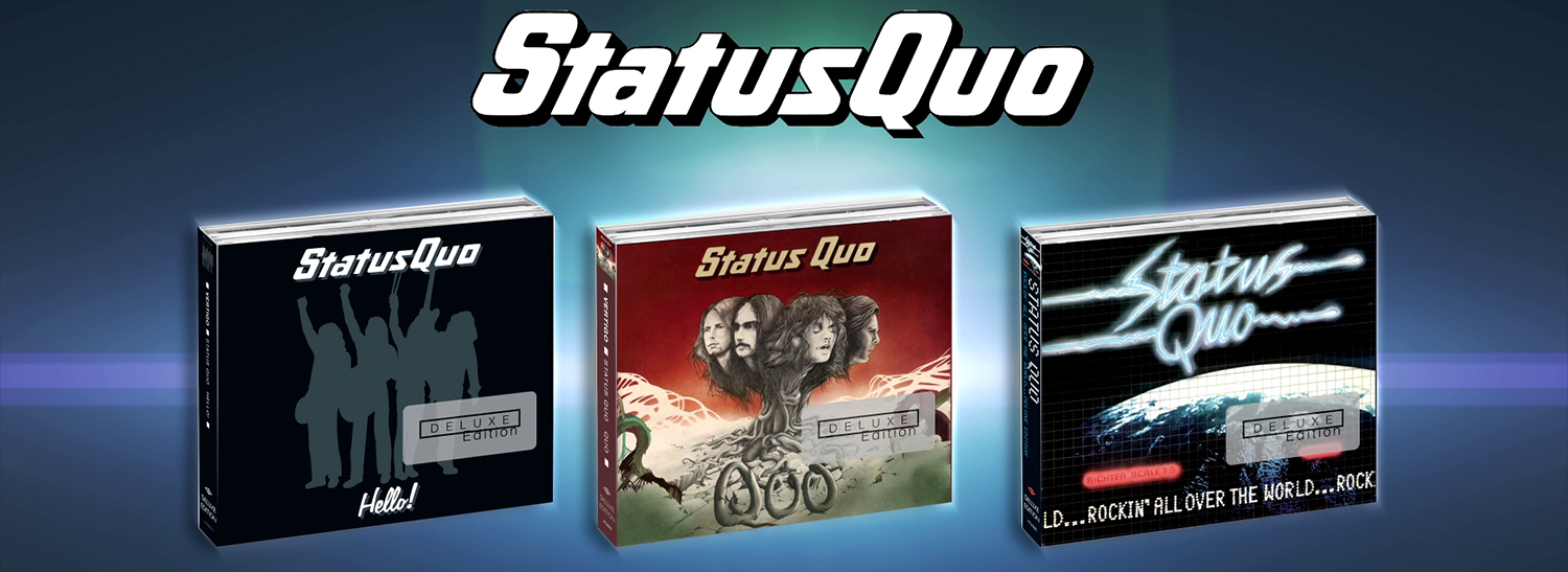 3D MoGFX unboxing animation for the upcoming Status Quo classic album re-releases. Produced for Universal Music.