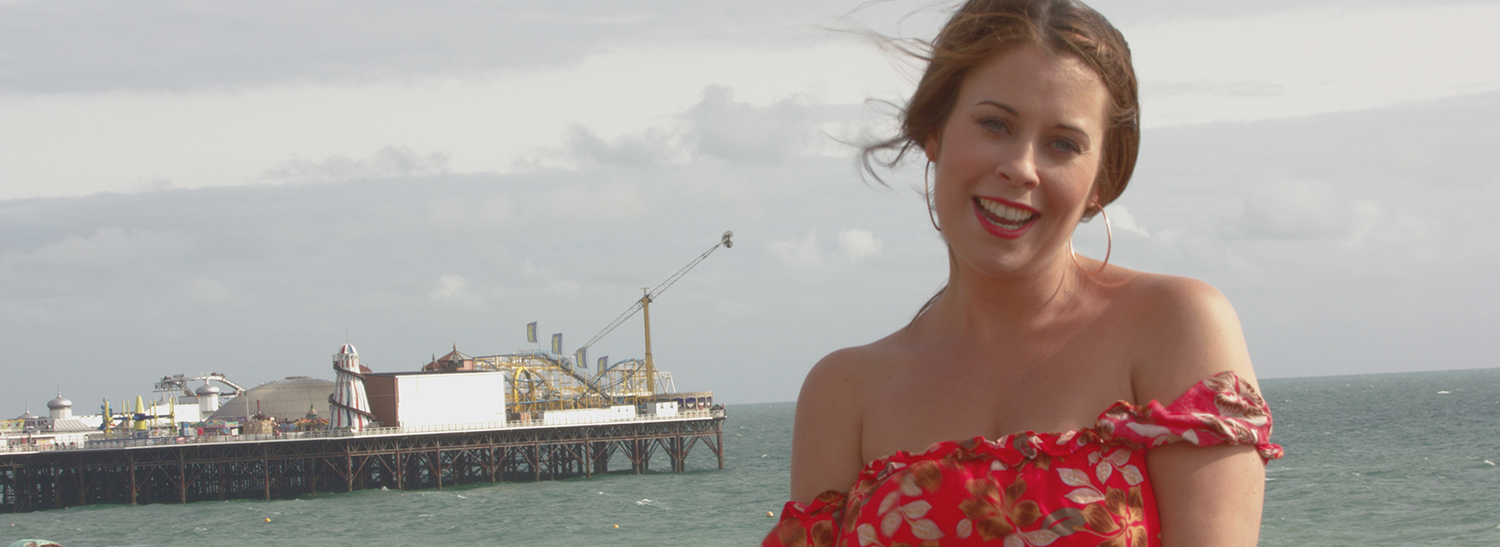 """Presenter Jessica Jay is back with our latest vlog, shot in """"sunny"""" Brighton this time! Find out what we've been working on lately..."""